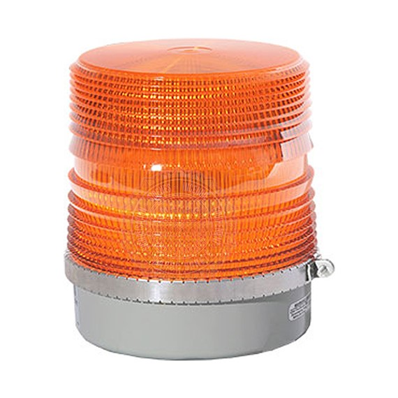 STAR HALO LED BEACONS AMBER 4 LED DOME 200SHL
