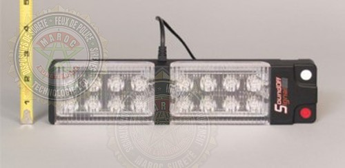 Gen3 LED Visor Light ELV3BVC